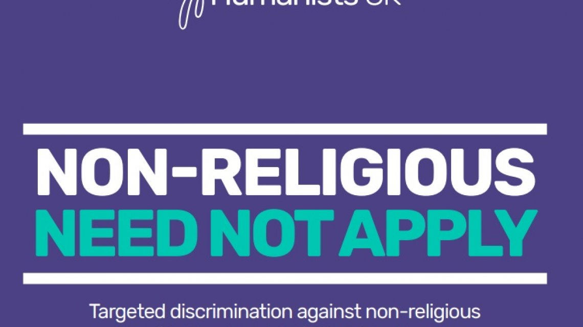 Report highlights scale of discrimination against non-religious in school admissions