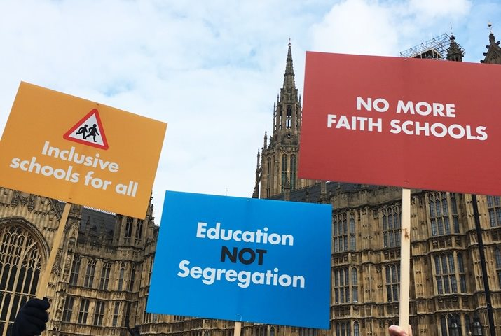 Inclusive education placards