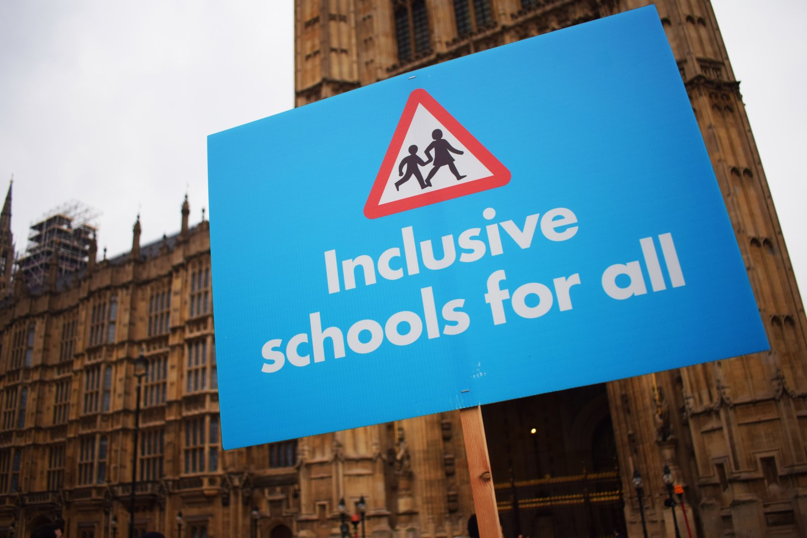 Inclusive schools for all protest
