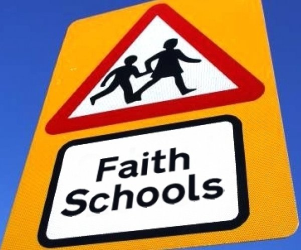Faith school sign